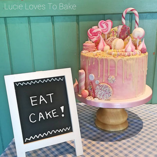 Sweet Chocolate Over Load Drip Cake