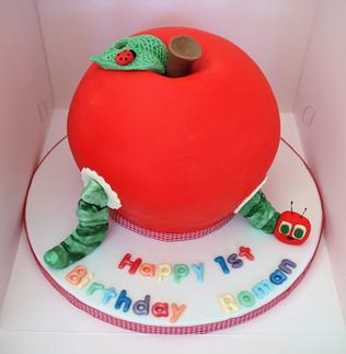 Hungry Catterpillar Cake