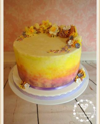 Easter Drip Cake