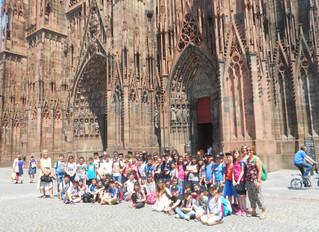 Alsace, Franche Comté et Bourgogne pour 65 petits écoliers