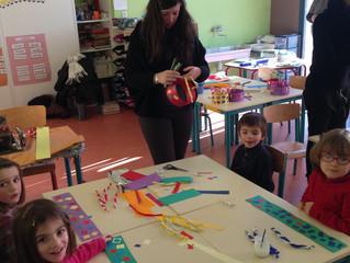 Les élèves de Vaxergues en visite à la maternelle