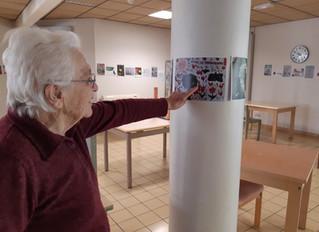 Projet dessins pour les personnes âgées: Message des résidents des l'EHPAD  Sorgues et  de Caylu