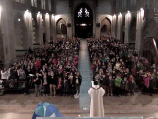 Enseignement catholique : 500 élèves rassemblés pour l'Avent