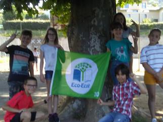"""Obtention du label """"éco-école"""" pour la 2ème année !"""