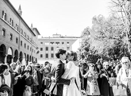 Ilaria & Omar: Un Matrimonio nel cuore di Ravenna.