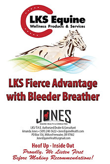 LKS Fierce Advantage with Bleeder Breather