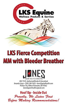 LKS Fierce Competition MM with Bleeder Breather