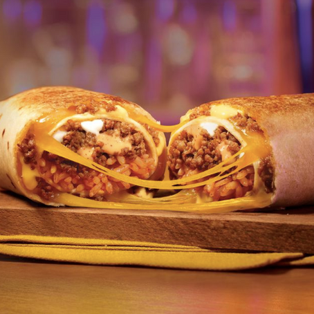 A Double Beef Quesarito Is Likely Coming To A Taco Bell Menu Near You