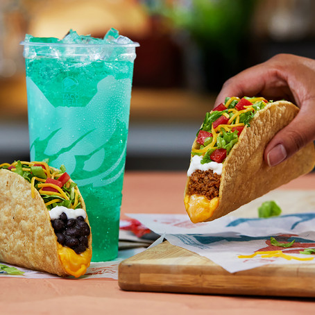 Taco Bell's Making a New Crispy Taco With a White Corn Shell