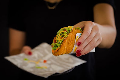 Taco Bell Nacho Cheese Naked Chicken Chalupa