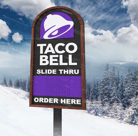 "Taco Bell Canada's Cheetos Crunchwrap Sliders Are Back In Celebration Of Its New ""Slide-Thr"