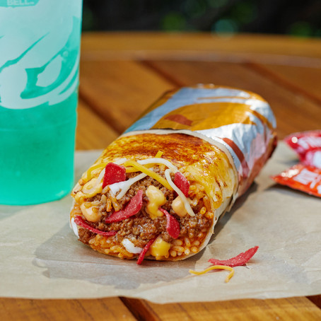 Taco Bell's New Grilled Cheese Burrito Has Cheese On The Inside And Outside Of The Tortilla