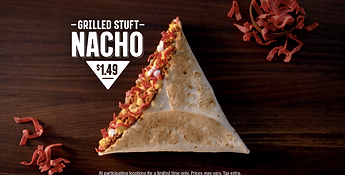 Taco Bell Grilled Stuft Nacho 2015