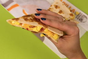 Taco Bell Breakfast Quesadilla 2017