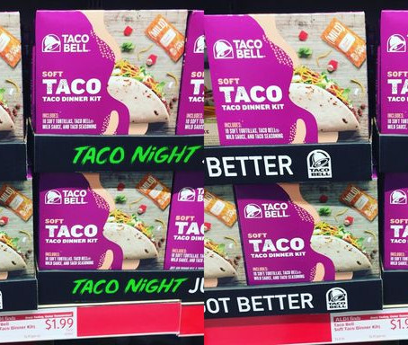Aldi Has Taco Bell Dinner Kits To Make Your Taco Tuesday Prep A Breeze