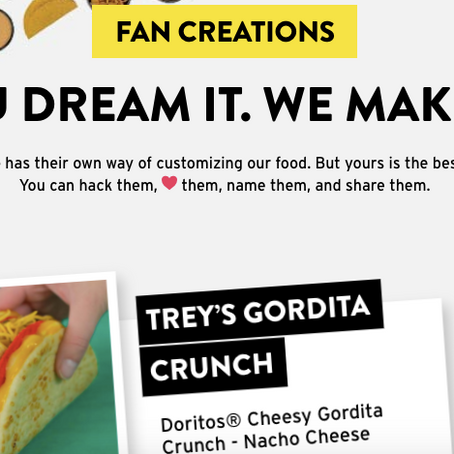 Taco Bell's New Website