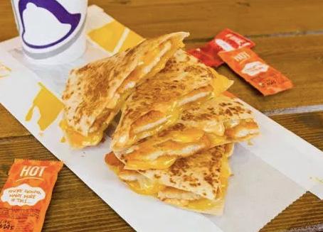 ICYMI: New Crispy Chicken Quesadilla from Taco Bell