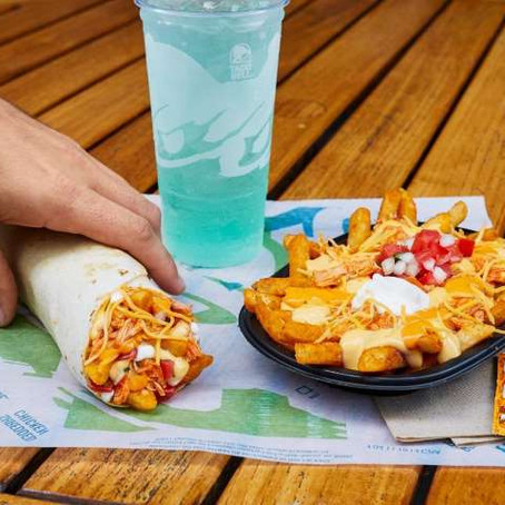 Taco Bell Releases Buffalo Chicken Nacho Fries and Burrito