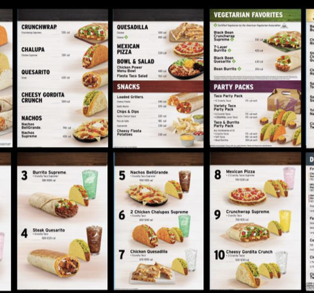 """The New """"Simplified"""" Taco Bell Menu is Coming in September"""