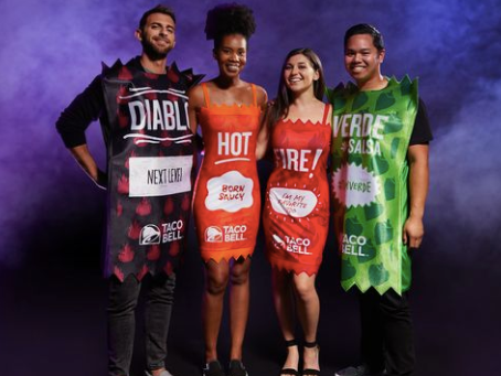 Taco Bell Released Halloween Costumes That Will Make You And Your Squad Look Fire