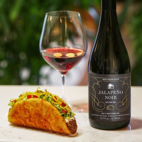 Taco Bell is now selling its own custom wine [Canada]