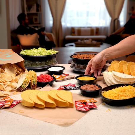 Taco Bell Reveals New At Home Taco Bar