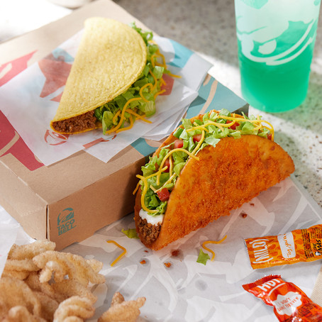 Taco Bell's Offering Buy 1, Get 1 Toasted Cheddar Chalupa Boxes on Uber Eats