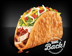 Taco Bell Bacon Club Chalupa 2015