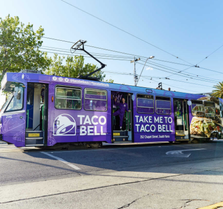 Taco Bell Just Made the World's First 'Tram-Thru'