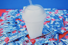 Taco Bell Airheads White Mystery Freeze 2016