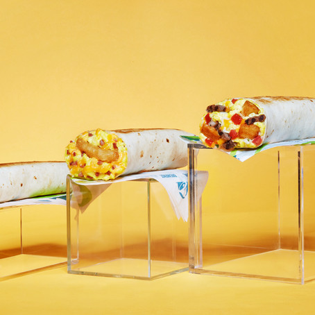 NOW TESTING: Taco Bell's NEW Toasted Breakfast Burrito Menu