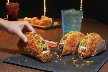 Taco Bell Takes Craveable Innovation To The Next Level -- The Toasted Cheddar Chalupa Hits Restauran