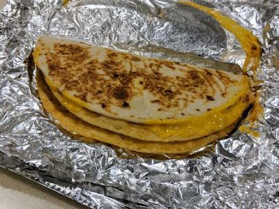 Taco Bell Cheesy Crunch Melt