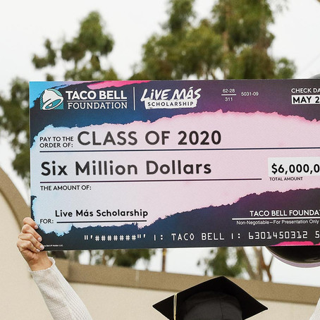 Taco Bell Foundation Providing $11M in Support to Students, Organizations