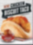 Taco Bell Chicken Biscuit Taco