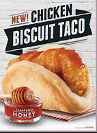Taco Bell Chicken Biscuit Taco