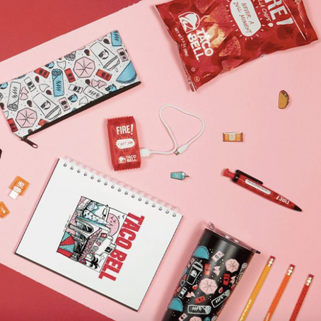 Taco Bell's Back-To-School Merch Collection Has Everything You'll Need For Fall
