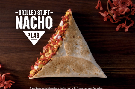 Bring back the Grilled Stuft Nacho!