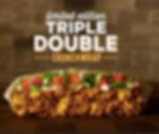Taco Bell Triple Double Crunchwrap 2017