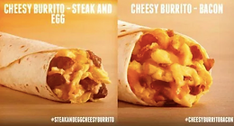 Cheesy Burritos Taco Bell
