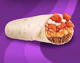 Taco Bell Beefy Crunch Burrito 2013