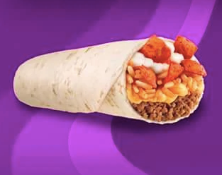 Taco Bell Beefy Crunch Burrito 2013