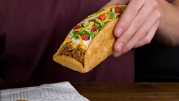 Taco Bell Double Chalupa 2017