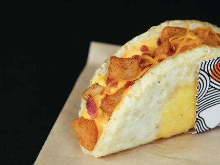 Taco Bell's Naked Egg Taco Available Today...and more!