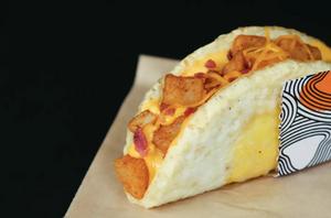 Taco Bell's Naked Egg Taco