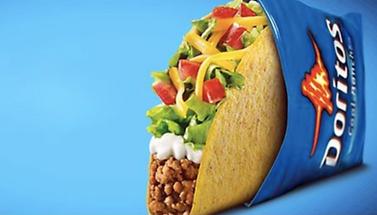 Taco Bell Cool Ranc Doritos Lcos taco 201