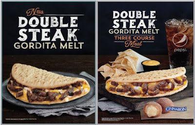 Double Steak Gordita Melt Taco Bell