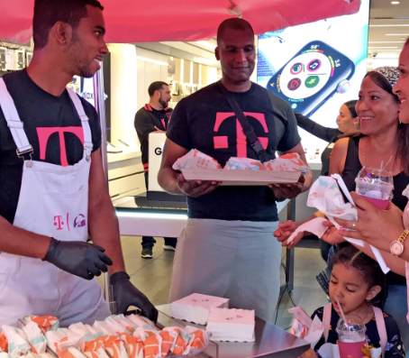INSIDE T-MOBILE'S AND TACO BELL'S 'T-MOBELL' STORES