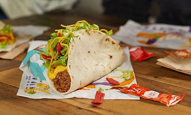 Taco Bell Loaded Nacho Taco