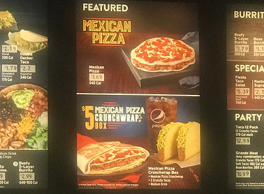 Taco Bell Mexican Pizza Crunchwrap